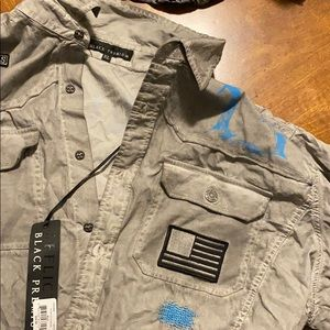 Affliction Button Up. NWT